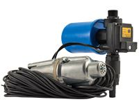 NOVELTY: AQUAROBOT VIBRA automatic water supply station based on submersible vibration pump